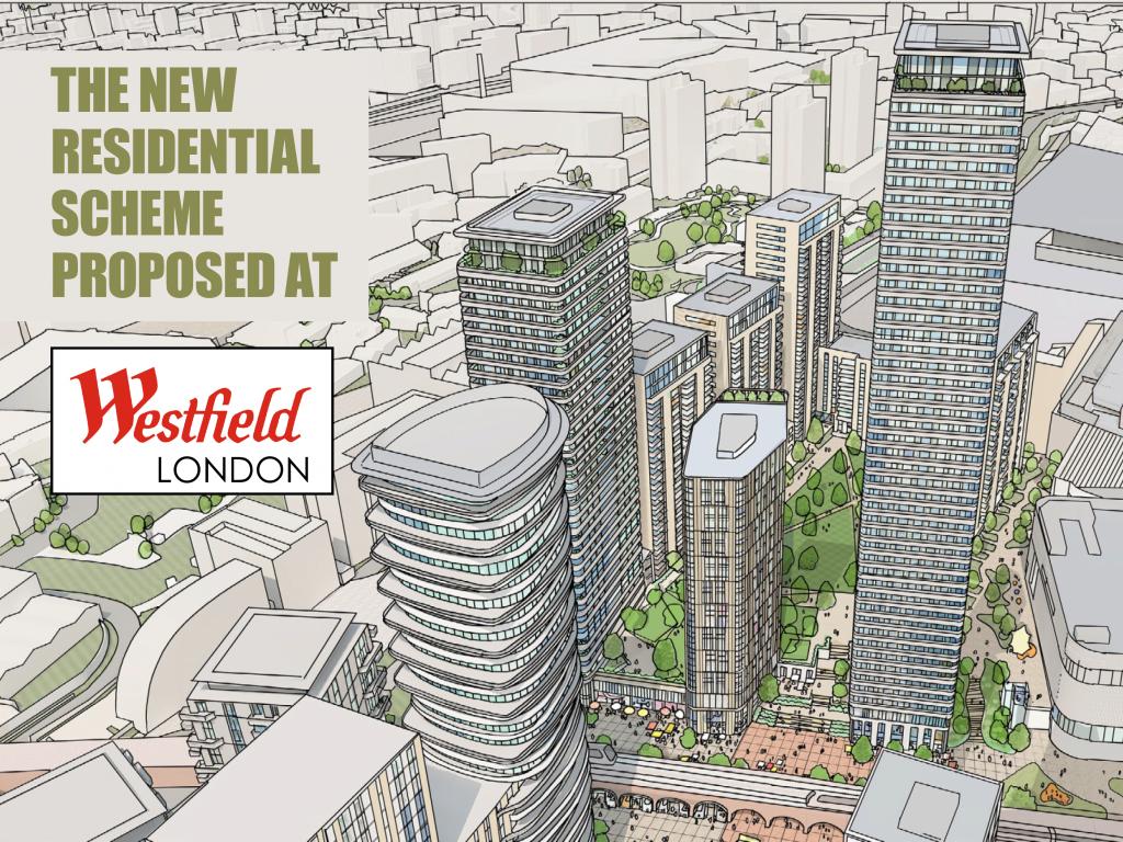 Westfield London, Plot C housing scheme